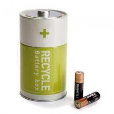 Battery Box Green - Batteriförvaring