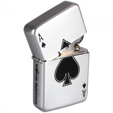 Tändare i Zippo-stil - Ace Of Spades / Spader Ess