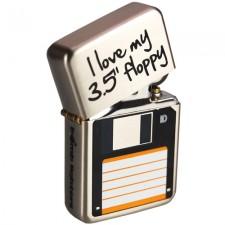 Tändare i Zippo-stil - Floppy Disc