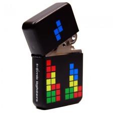 Tändare i Zippo-stil - Blocks / Tetris / Pixel Art